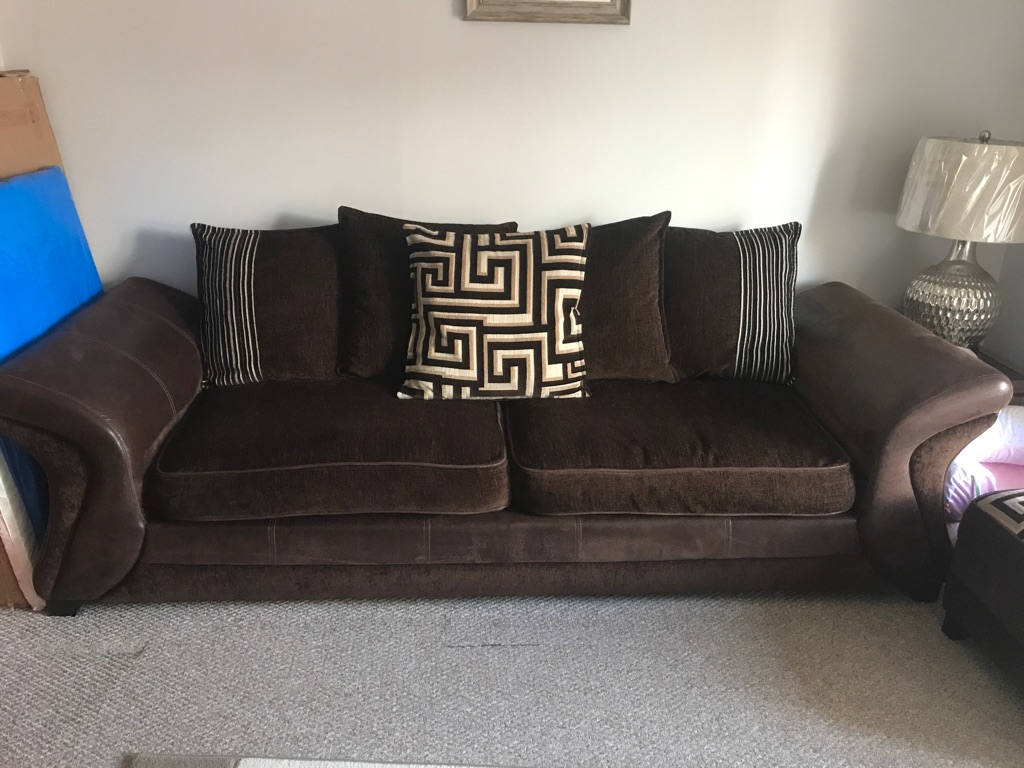 Sofa set from dfs