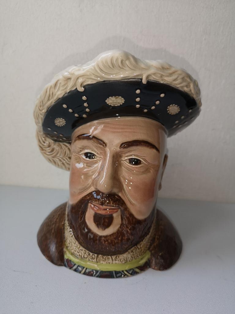 Vintage large Beswick Toby Jug. Henry VIII. Model number 2099.