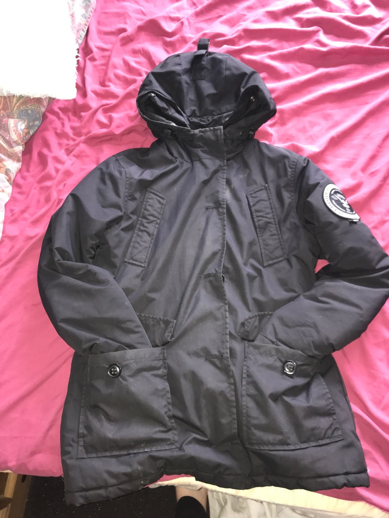 Women's super dry coat medium