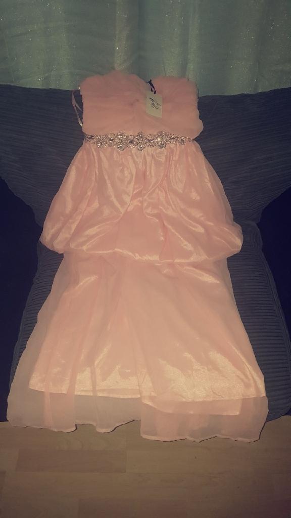 Womens Baby Pink Dress Brandnew