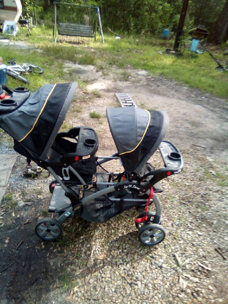Bugaboo triple stroller