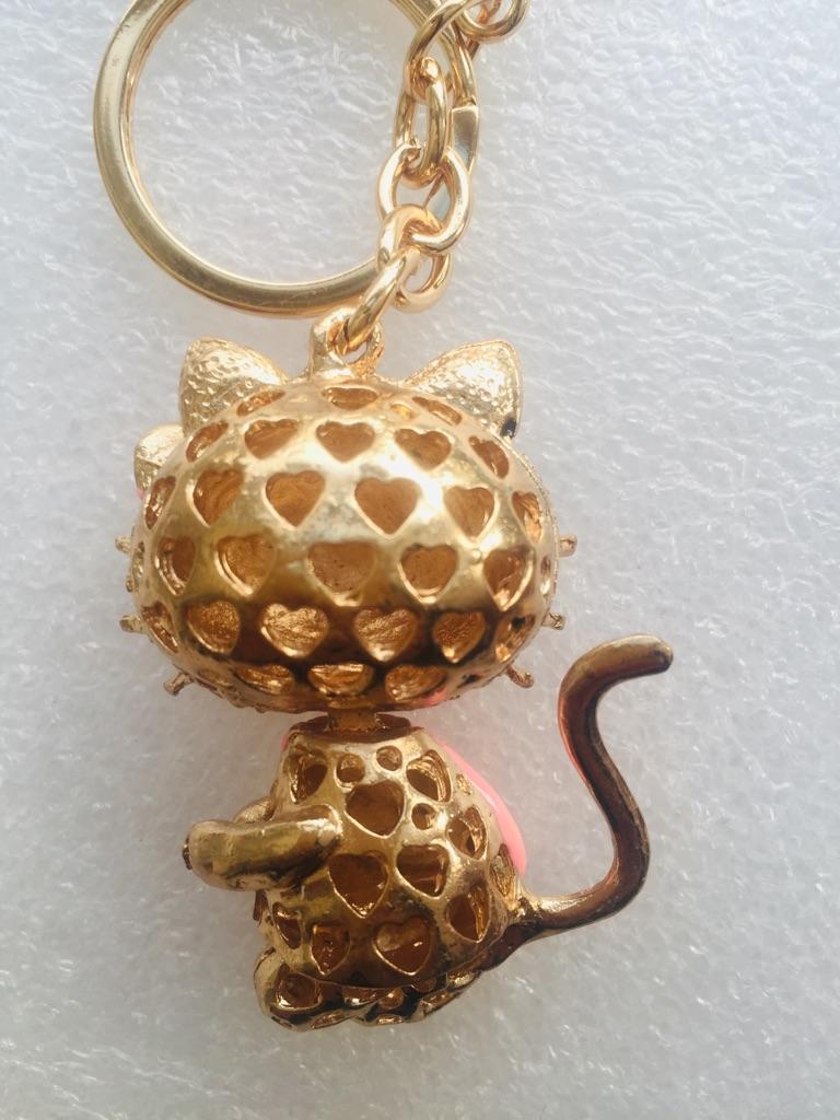 Keys ring holder with cat *** 1