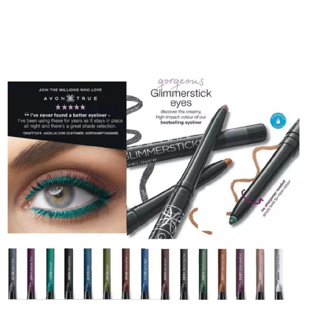 Avon true colour Glimmerstick Diamonds Eyeliner