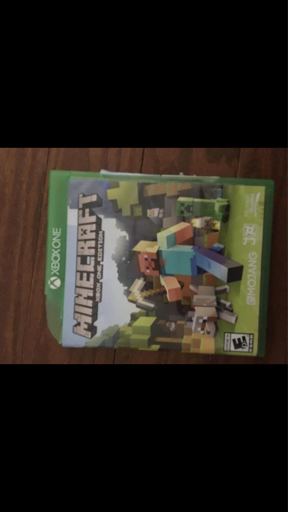 Minecraft for Xbox 1