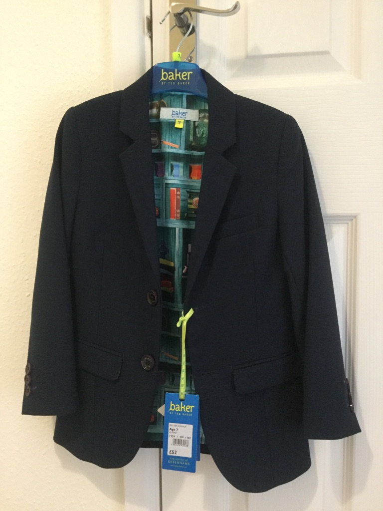 Baker by Ted Baker boys suit age 7