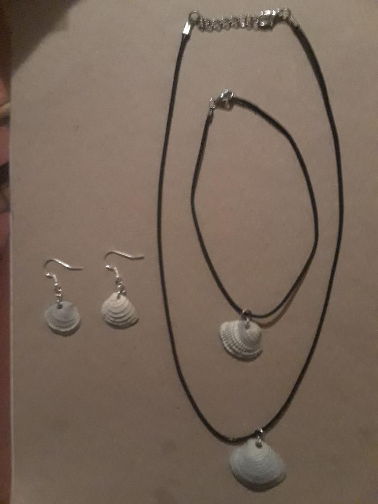 Handmade Seashell Jewelry