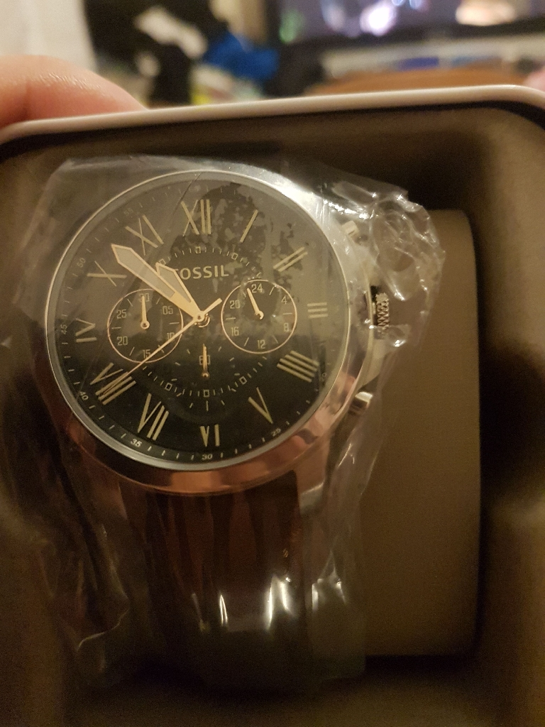 Fossil chronograph brand new watch!
