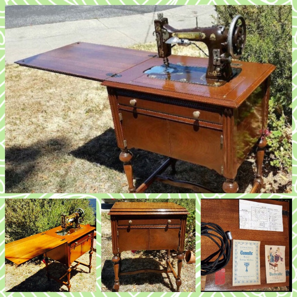 Vintage Domestic Sewing Machine