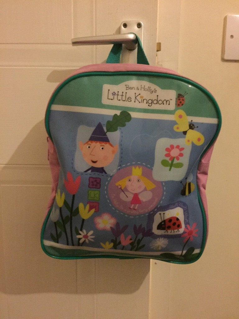 Ben & Holly's backpack