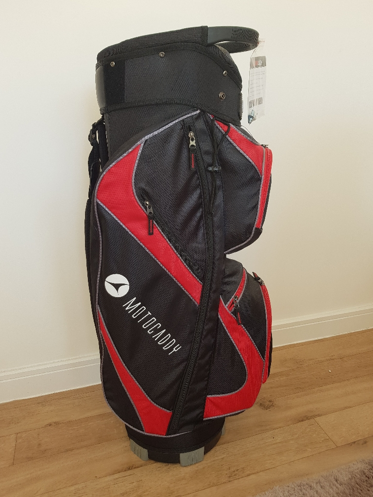 Motocaddy Lite Series Golf Bag - Black/Red BRAND NEW WITH TAGS