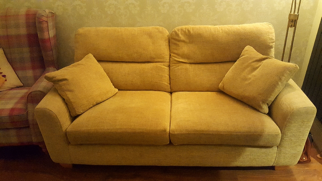 3 seater sofa and matching armchair for sale