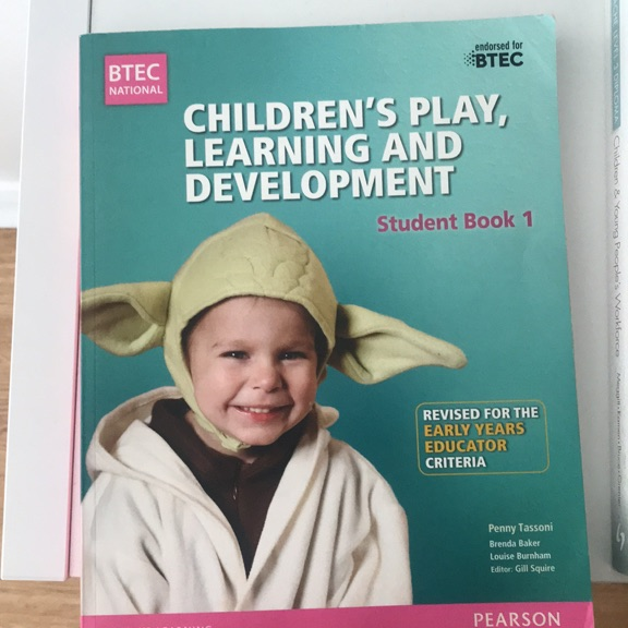 BTEC children's play, learning and development book
