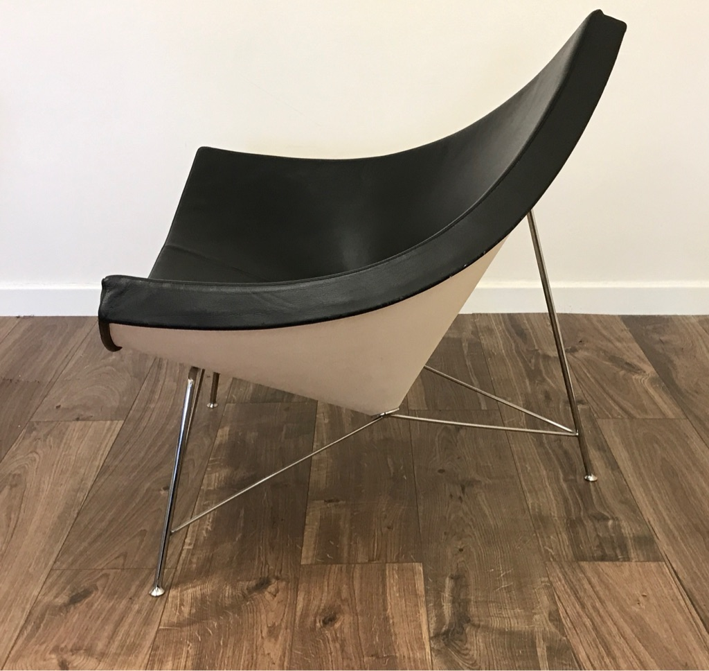 Genuine Vitra Coconut Chair- Black- RRP: £4,000