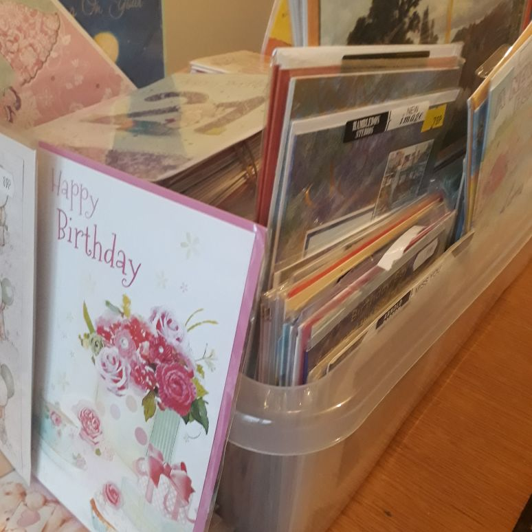 MIXED ASSORTED GREETING cards x 24