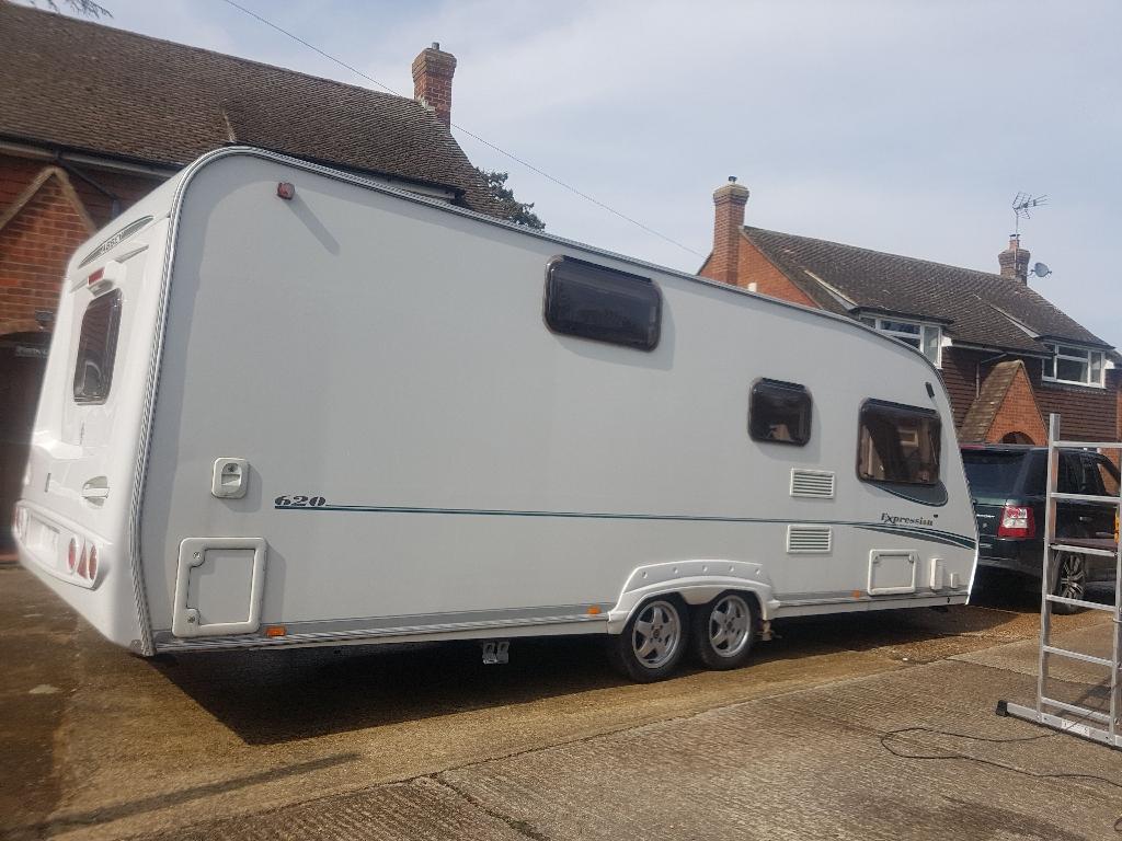Abbey Expression 620 6 berth caravan