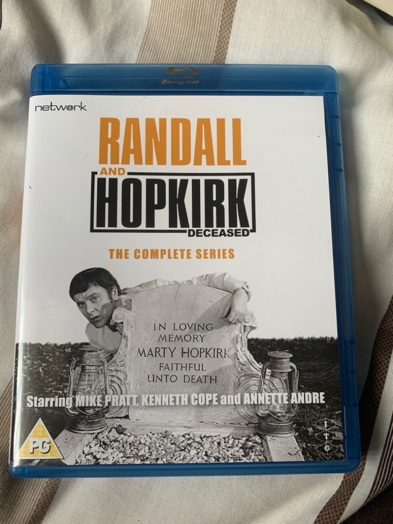 Randall and hopkirk blue ray dvd complete series
