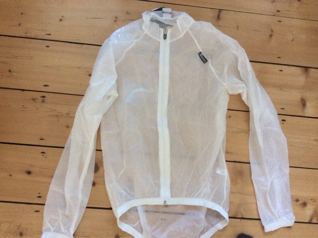 Santini Windbreaker transparent for outdoors