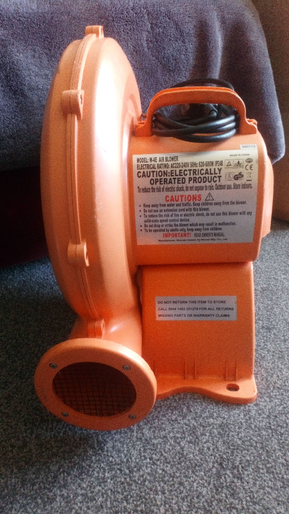 Electric air blower W-4E