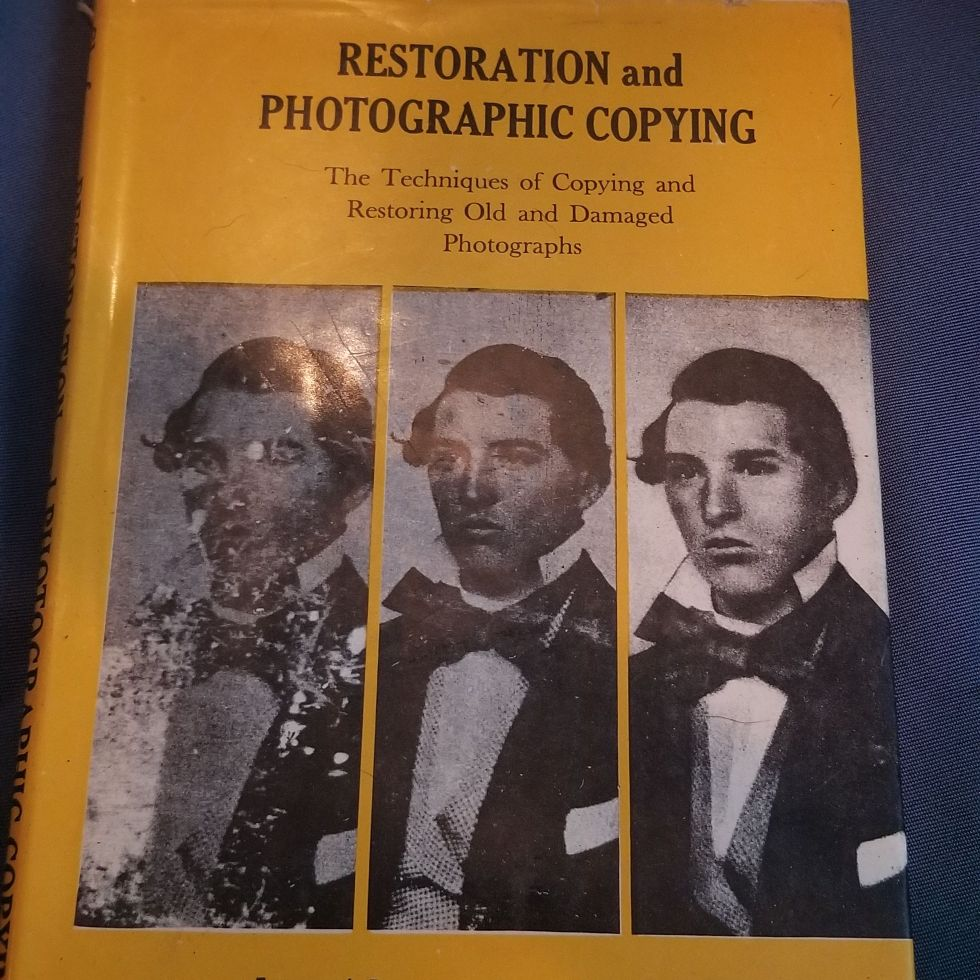 Restoration and Photographic Copying Book