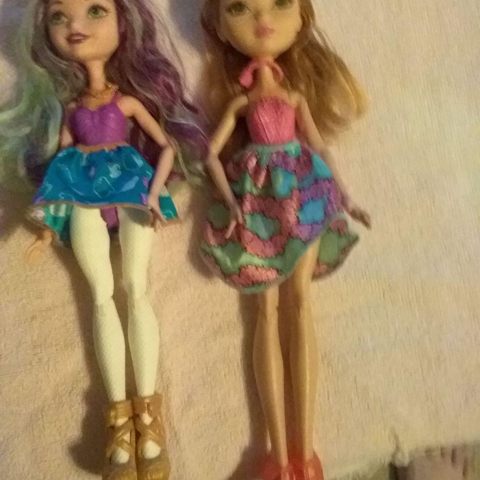 Everafter high dolls
