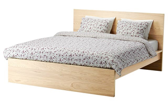 Malm king size bed (180x200cm)