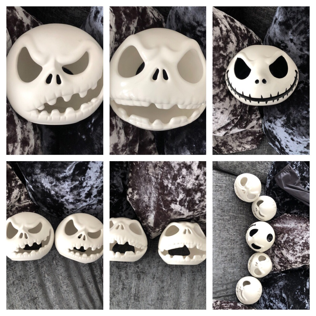 Set of nightmare before Christmas candle holders in great condition