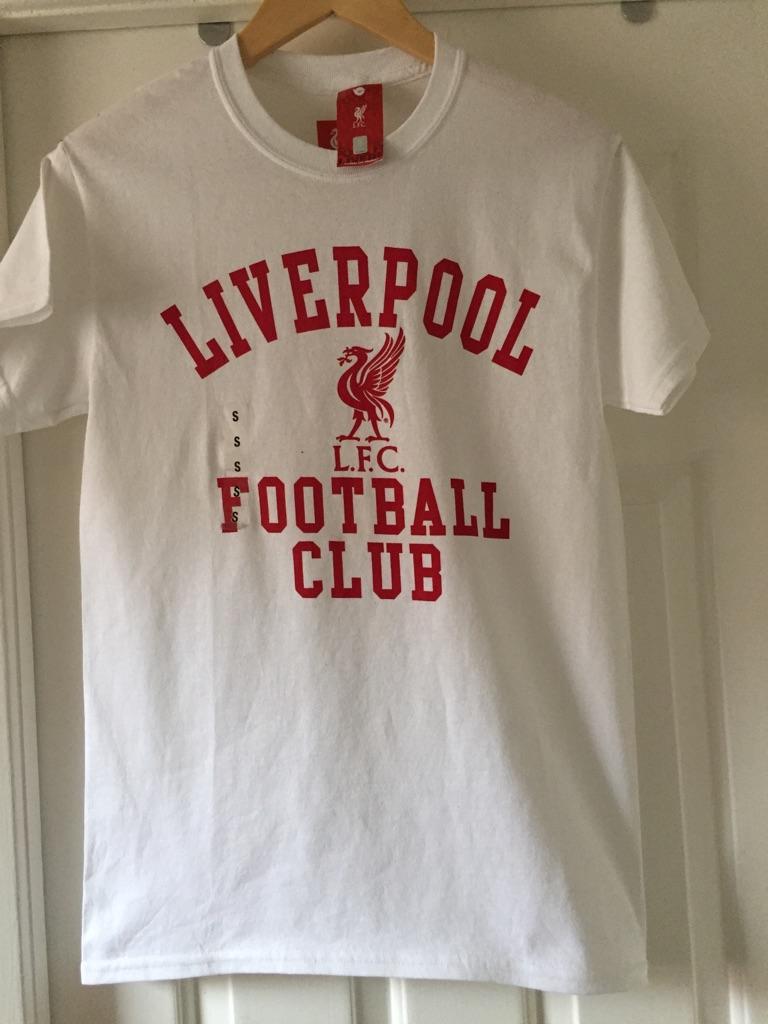 Brand new Liverpool football club t shirt