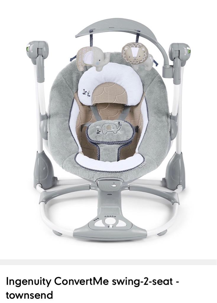 Baby swing Ingenuity ConvertMe swing-2-seat - townsend
