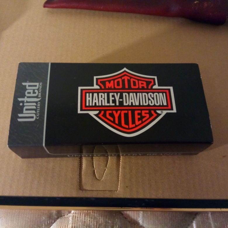 Harley Davidson knife