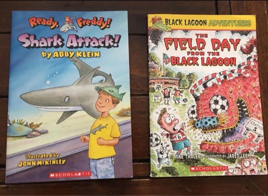 Kid's Scholastic books
