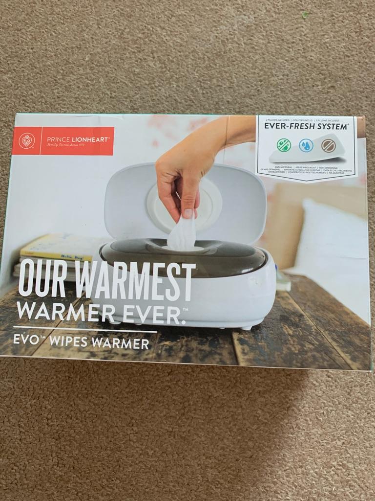 Brand new wipe warmer