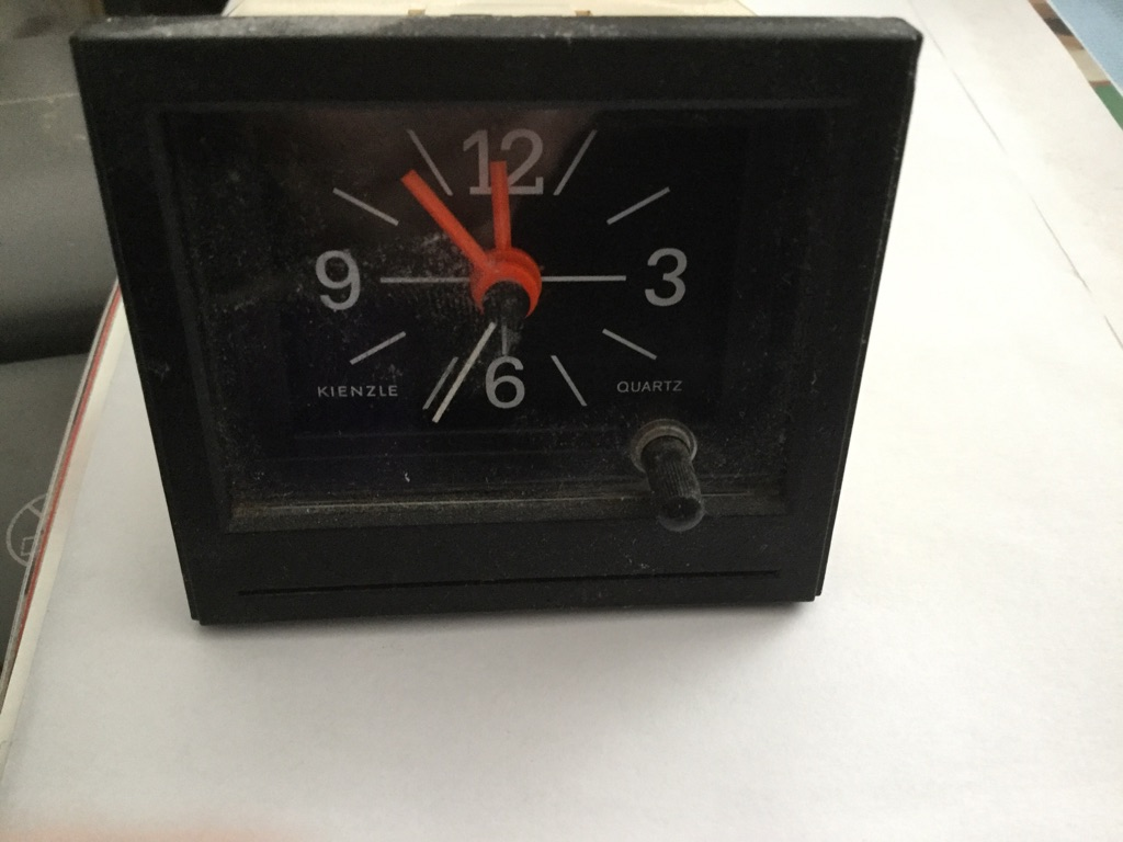 Renault clock complete with fixings