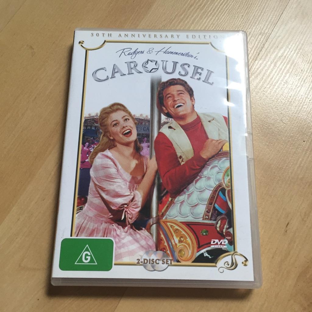 Carousel DVD 2 Disc 50th Anniversary Editiin