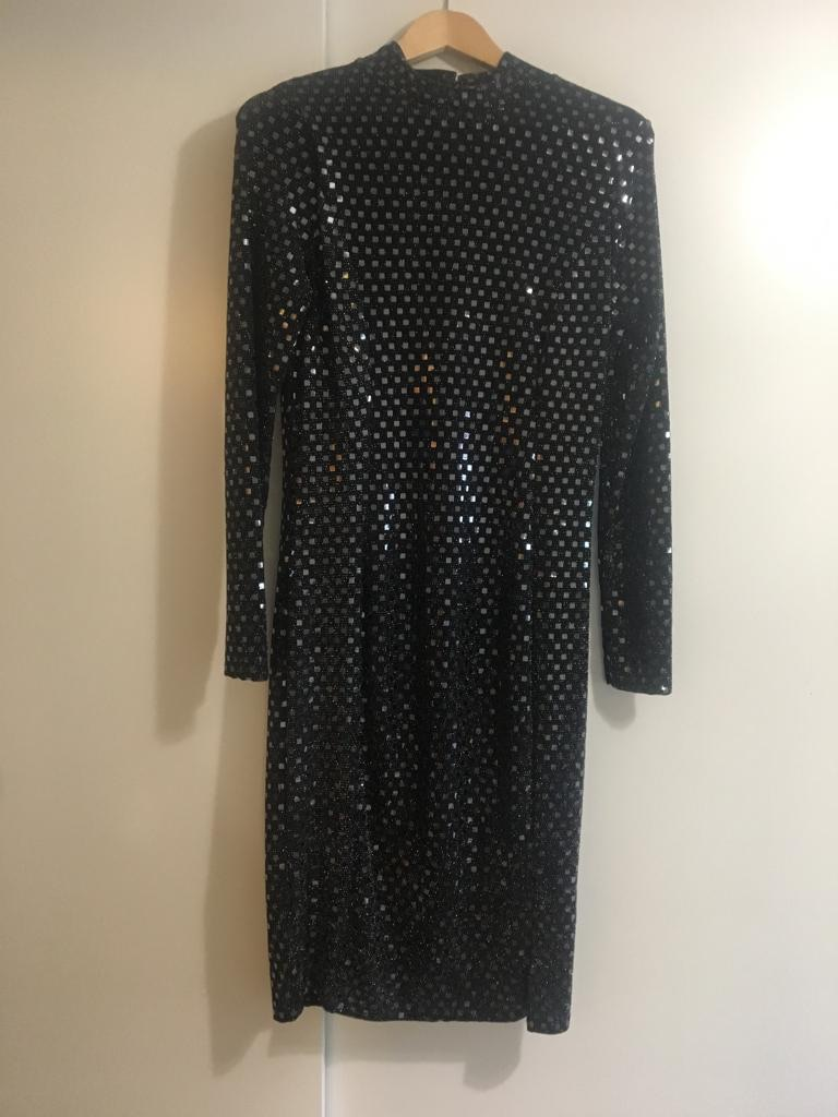 RIVER ISLAND SEQUIN DRESS SIZE 14