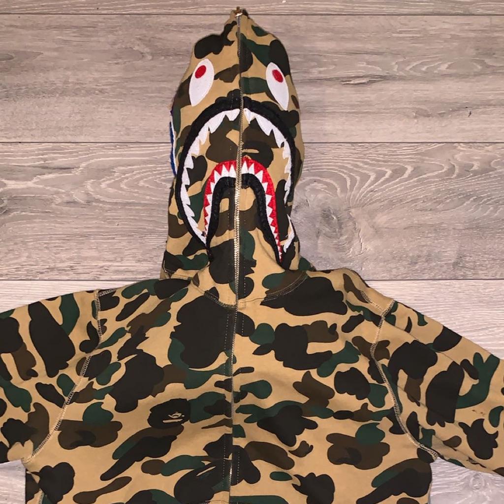 Authentic 1st Camo Bape Hoodie