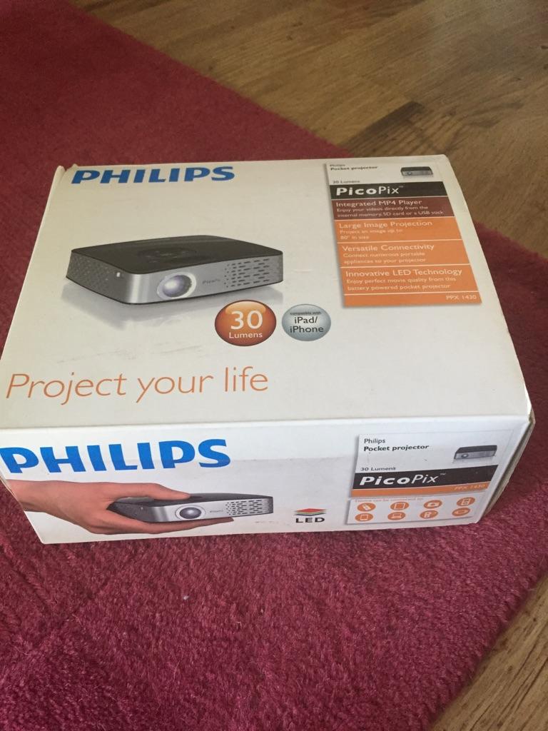 Phillips PicoPix pocket projector