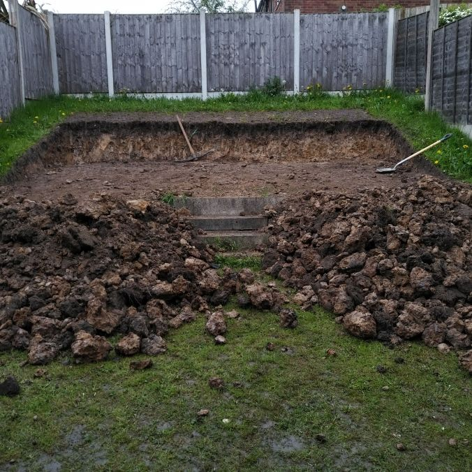 Soil to be removed