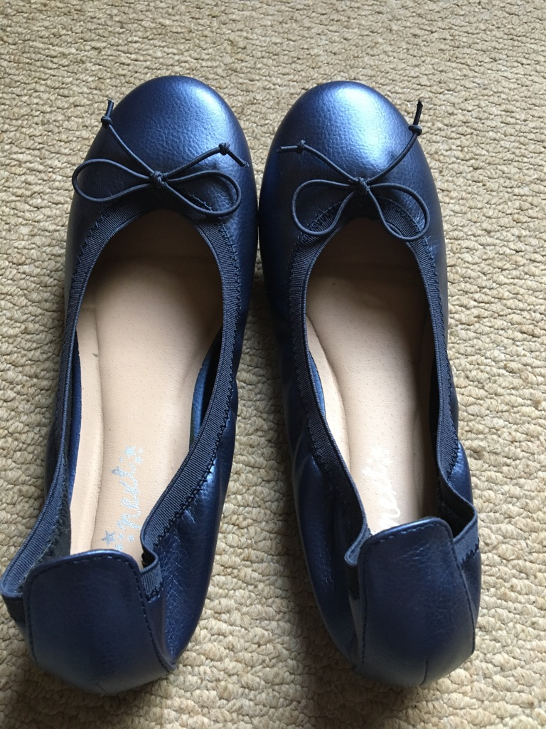 Next Blue Girls Party shoes