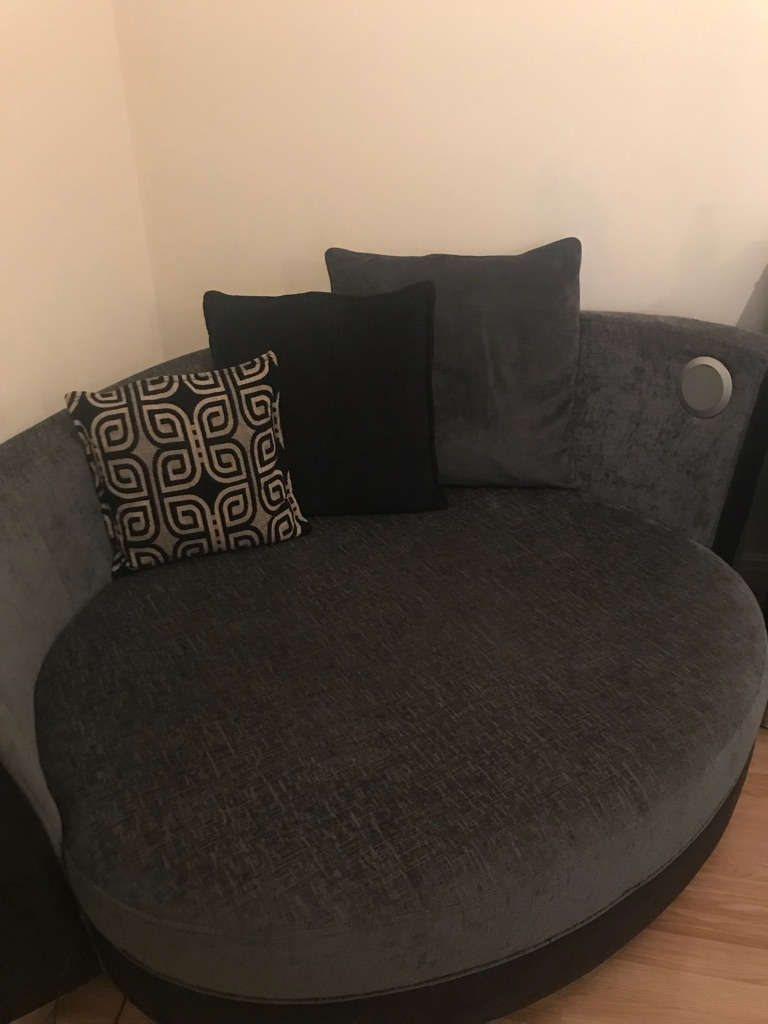 Dfs 4 Seater Sofa And Music Cuddle