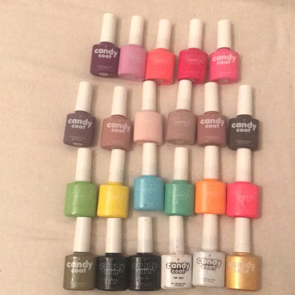 Gel Polish UV/LED various colours.
