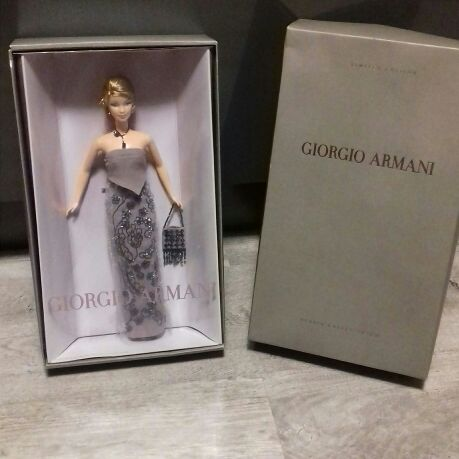 Barbie Collectors Edition Giorgio Armani Doll