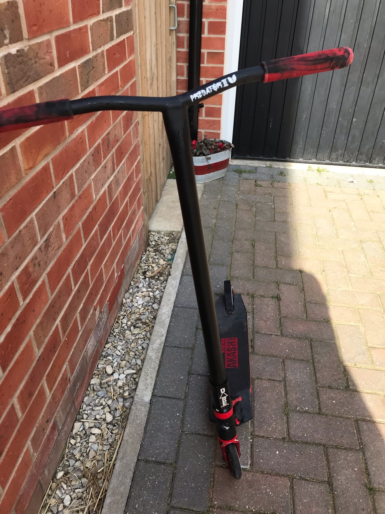 Custom scooter - brand new