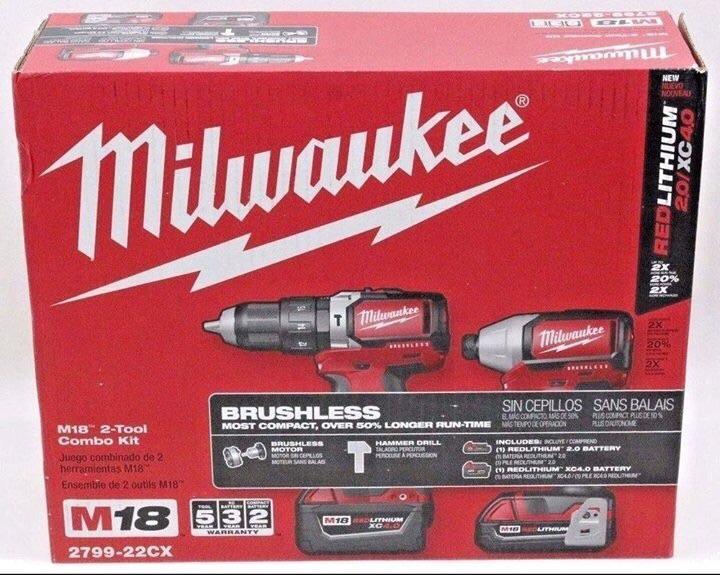 Milwaukee Combo Drill