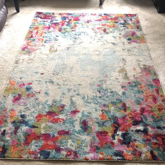 Annmarie area rug 5' x 8'