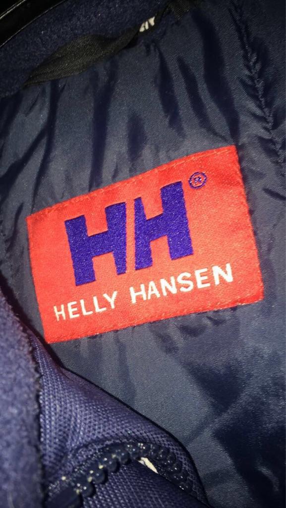hally hansen puffer coat