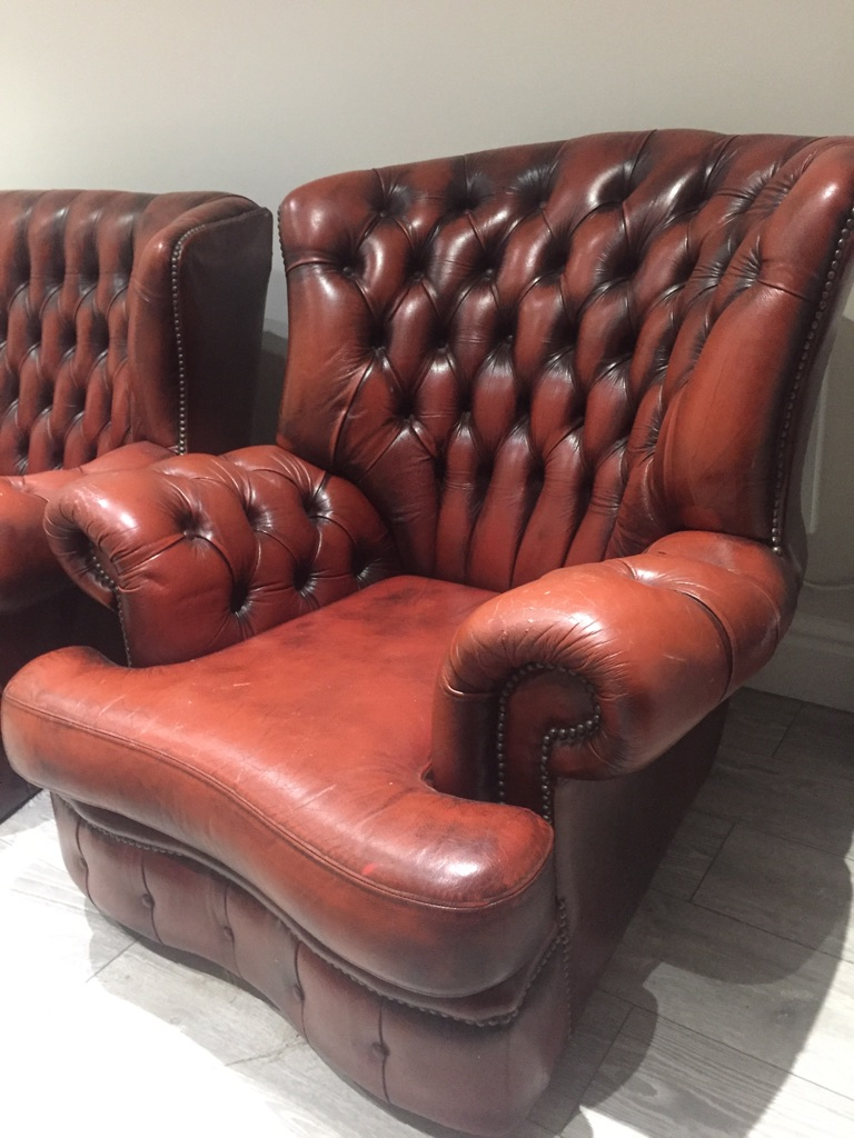 Vintage Chesterfield Set