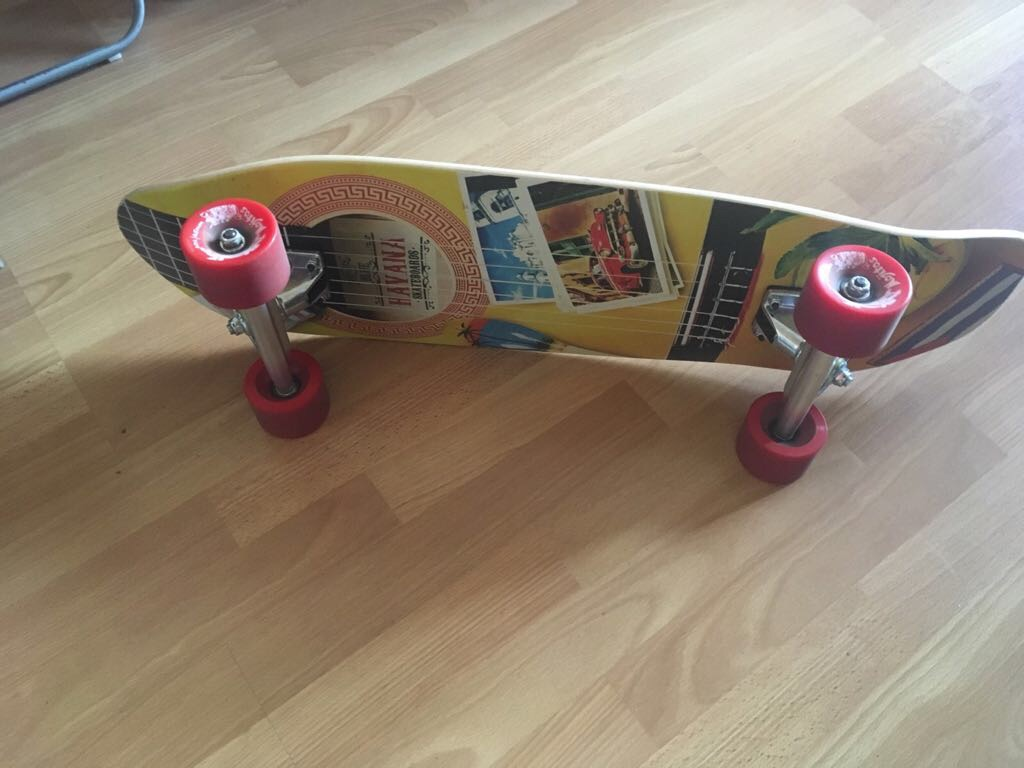 Blue Havana skateboard
