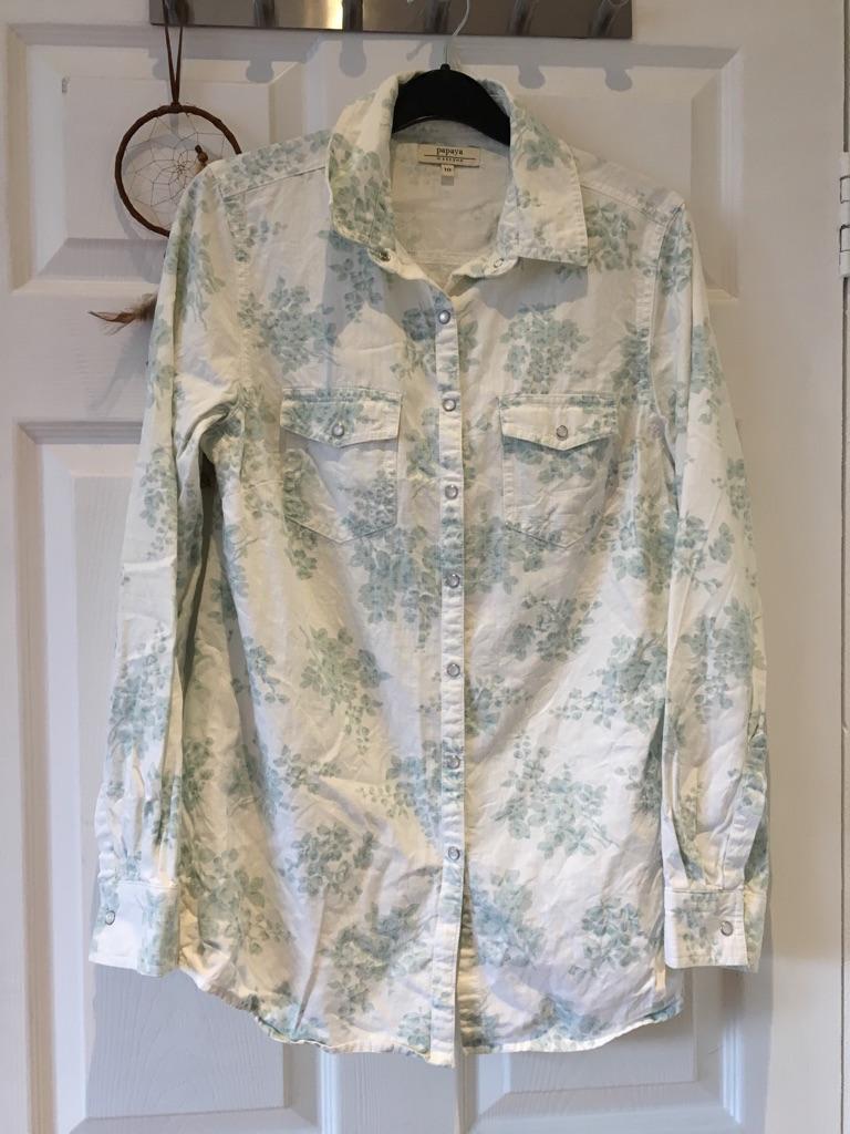 BRAND NEW Patterned Shirt size M