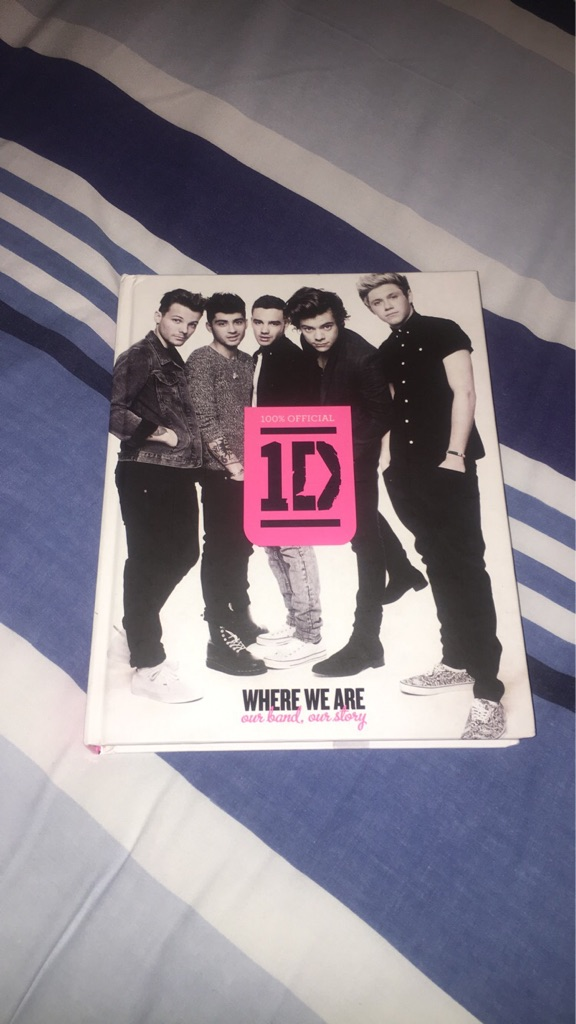One direction official book