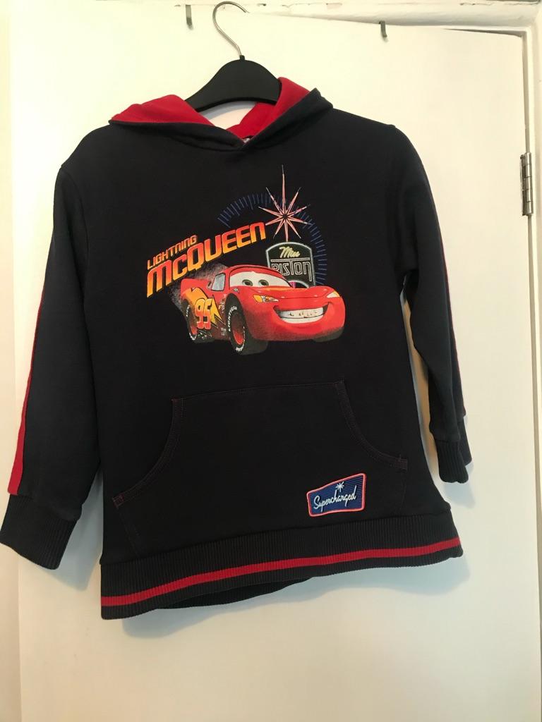 Children's Lightening McQueen Sweatshirt, age 6-7
